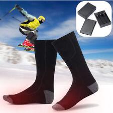 Winter Rechargeable Electric Warm Heated Socks Outdoor Indoor Sport Thermal Sock