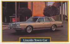 Lincoln Town Car Signature Series 1981 US issued Postcard