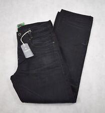 BNWT G-STAR RAW NEW RADAR LOW SUELTO Jeans Denim Medium Aged HYDRITE 34/32 (S3)