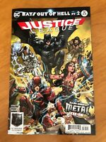 Justice League 32 Porter Variant Metal Tie In Batman Who Laughs DC 2017  NM