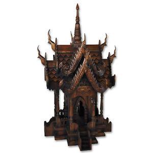 Geisterhaus Geisterhäuschen Feng Shui Thailand  80 cm Chiang Mai San Phra Phum