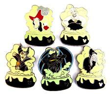 Comic pin/Pins - © Disney/Villains Collection Cauldron set/5 pasadores [4030g]