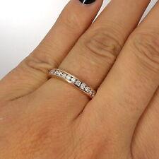 Wert 2840 € Brillant Memory Ring (1,05 Karat) in 750er 18 K Rosegold Größe 55