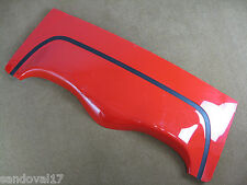 1998-2004 Corvette C5 Convertible Top Tonneau Lid Cover Red