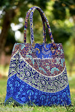 Indian Mandala Multi Tote Bag Shoulder Handbag Cotton Women Satchel Purse Lady_j