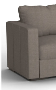 Series 6 LoveSac Sactional Couch Sofa Cover Stone Polylinen - Side Cover