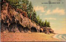 Postcard  The  Ovens Bar Harbor Maine