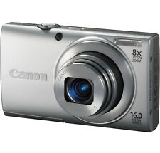 Canon PowerShot A4000 IS 16 MP Digital Camera Blue Point & Shoot 8x Optical Zoom