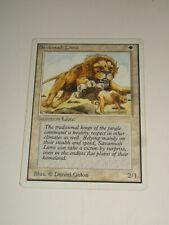 Magic the Gathering MTG SAVANNAH LIONS Unlimited Single Card LP/NM-