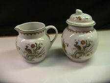 Wedgwood China OLD CHELSEA Creamer & Covered Sugar Bowl Set Item 4151