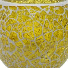 Mosaic Glass Tea Light Candle Holder for Wedding Home Garden Dinner Decor _C