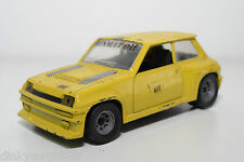POLISTIL RENAULT 5 TURBO RALLY YELLOW EXCELLENT CONDITION