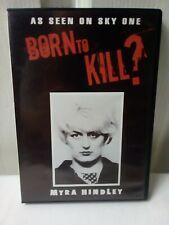 Born To Kill Myra Hindley DVD