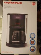 Morphy Richards Accents Kaffeemaschine mit Dauerfilter, Timer uvm.