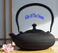 Cast Iron Zen mountain black teapot 0.8L