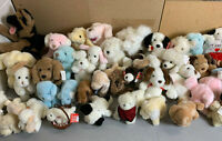 ~Lot of 42 GUND Stuffed Animal Plush DOGS Collection - Vintage 1980's & 1990's
