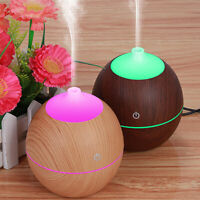 Essential Oil Diffuser LED Aroma Diffuser Steam Electric Ultrasonic Cool Mist HZ