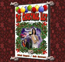 THE CHRISTMAS LIST (1997) DVDr UNCUT - Mimi Rogers, Rob Stewart - CASE & DVD