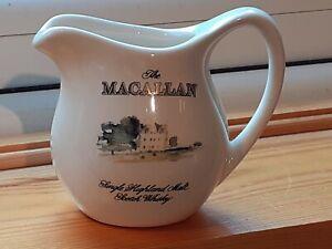 Macallan Single Malt miniature water jug