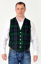 Black Watch tartan waistcoat vest 4 KILTS  usually £79 SALE £34.99 all sizes