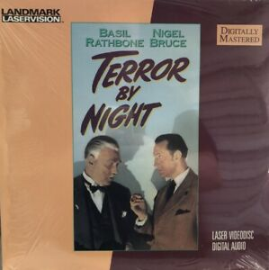 Terror By Night :Basil Rathbone. New Laser Disc