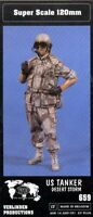 Verlinden 1:16 120mm US Tanker Desert Storm Resin Figure Model Kit #659