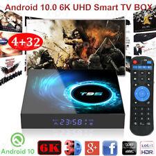 6K T95 4+32G Android 10.0 OS Quad Core UHD TV BOX WIFI Allwinner HDMI Home Games