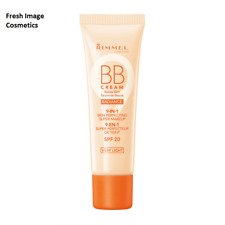 Rimmel Wake Me Up Radiance BB Cream 9 In 1 SPF20 30ml - very light new
