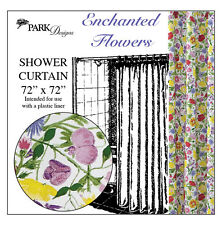 Shower Curtain   Enchanted Flowers By Park Designs   Bathroom