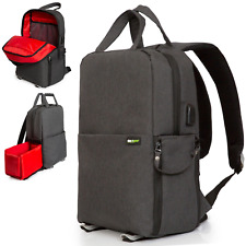 DSLR Camera Bag , Photo/Video Backpack for Mirrorless/DSLR Cameras/Drones