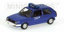 Voitures de tourisme miniatures bleus Volkswagen
