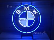 "New Bmw Car Auto Neon Sign 17""x17"" with Hd Vivid Printing Technology"