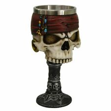 Dead Man's Drink Skull Pirate Goblet