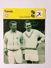 CARTE EDITIONS RENCONTRE 1978 / TENNIS - TONY TRABERT