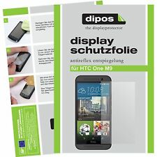 6x HTC One M9 Schutzfolie matt Displayschutzfolie Antireflex One M 9 Folie dipos