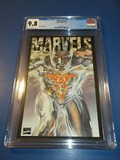 Marvels #3 Great Alex Ross Silver Surfer Cover CGC 9.8 NM/M Gorgeous Gem