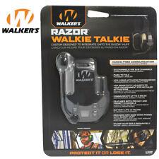 Walker's Razor Walkie Talkie for Razor Muff Hands Free Communication PTT NRR 23