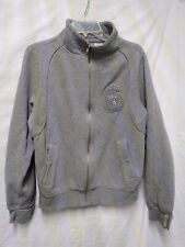 Everlast Mens Athletic Jacket Size M Gray  Zip Large Spell out