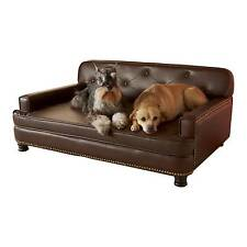 Enchanted Home Pet Library Brown Sofa Dog Bed Co1556 12p