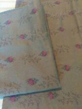 Rare Ralph Lauren Formal Garden Pair of King Pillowcases Brown