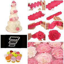 Cake Decorating Fondant Gum Paste Easiest Carnation Ever Cutters Modelling CC
