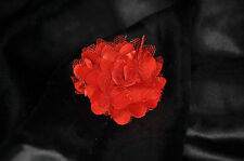 Red flower magnetic anal butt plug attachment