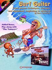 Surf Guitar - Guitar Educational Book and CD NEW 000000279