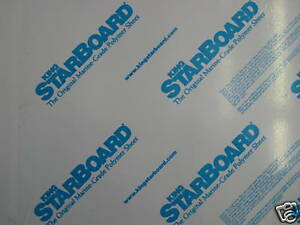 king starboard 1 inch thick White or black cut to your size max 3 sq. feet