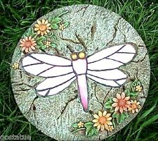"""Dragonfly stepping stone mold  5000 molds in my ebay store 12"""" x 2"""""""