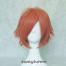 Ouran High School Host Club Kaoru/Hikaru Hitachiin Pink Orange Cosplay wig