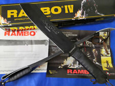 POWER RAMBO FIRST BLOOD PART IV LICENSED SIGN SURVIVAL HUNTING 7mm CAMPING KNIFE