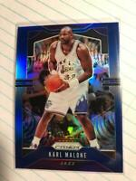 2019-20 Panini Prizm Prizms Blue #19 Karl Malone #D 008/199 Utah Jazz HOF