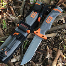 GERBER Titanium fixed Blade Hunting Knife Survival Tactical Camping Outdoor Tool