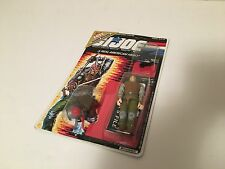 GI Joe 1988 Budo w/ Micro Figure MOC Sealed on Original Card UNPUNCHED